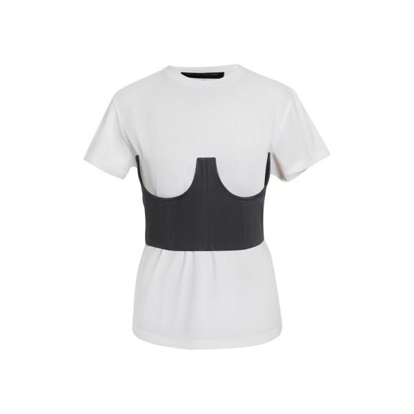 Graphite grey corset