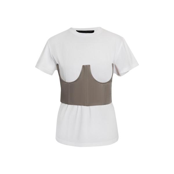 Sandy grey corset