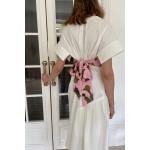 Pink corset (print dragon)