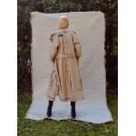 """Camel trench coat """"iznanka"""""""