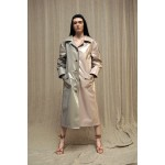 Two-tone transformer trenchcoat