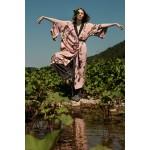 Pink kimono (print dragons)