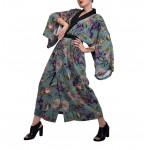 Nephritis transformer kimono dress