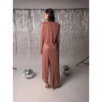Rose asymmetric pants