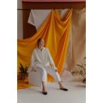 White plaid transformer shirt