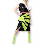 Neon transformer skirt
