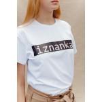 Printed white t-shirt Iznanka