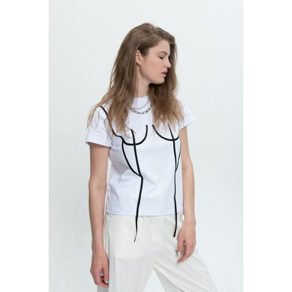 Basic T-Shirt with applique
