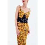 Look 1: Slip dress + corset